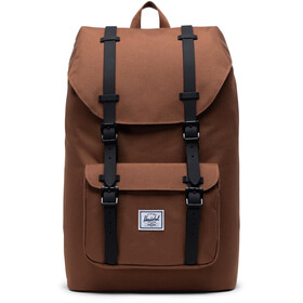 Herschel Little America Mid-Volume Backpack 17L saddle brown/black